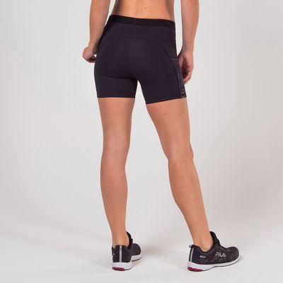 Shorts Compress Fit Stripes Feminino