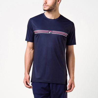 Camiseta Aztec Box Stripes Masculina