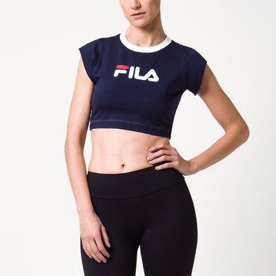 Blusa Cropped Pia Feminina