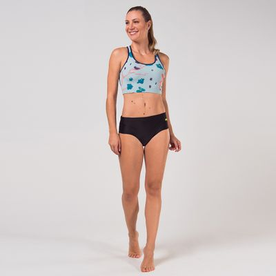 Sunquini Bottom Acqua Feminino