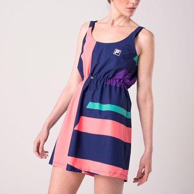 Vestido Maxi Geo Feminino