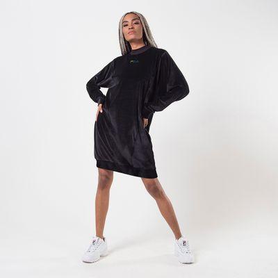 Vestido Plush Block Feminino