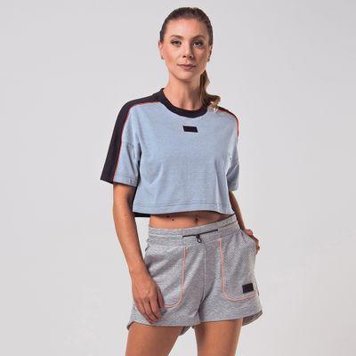 Camiseta Cropped Sports Ff Feminina