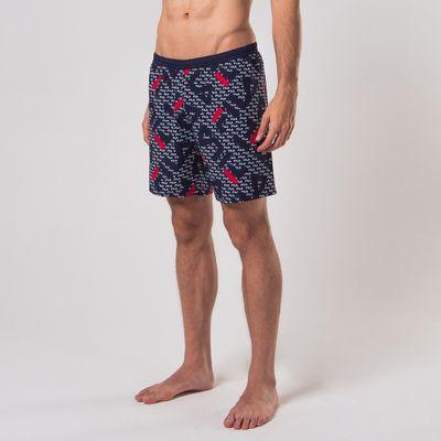 Shorts Swim Sports Print Masculino