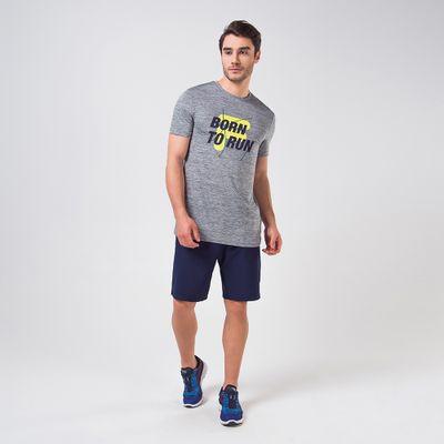 Camiseta Born To Run Melange Masculina