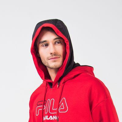 Casaco Hoodie Mfw19 Vermelho Masculino