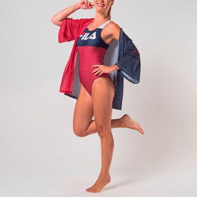Blusa Kimono Swim Feminina