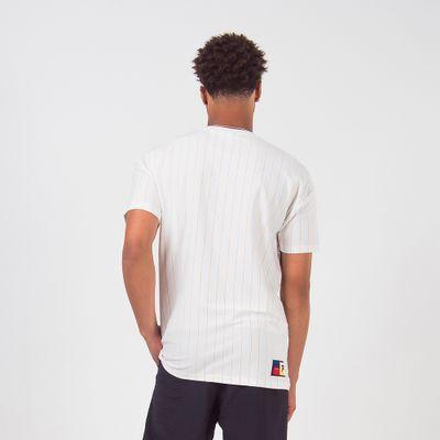 Camiseta Listrada Flag Masculina