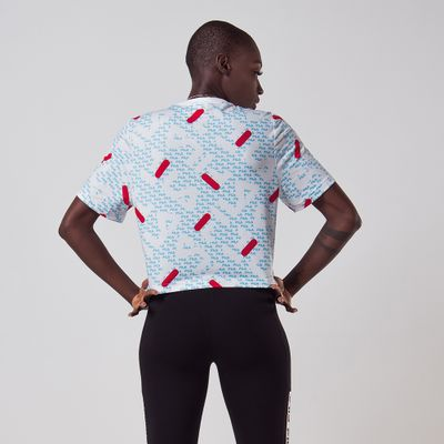 Camiseta Cropped Full Acqua Trek Feminina