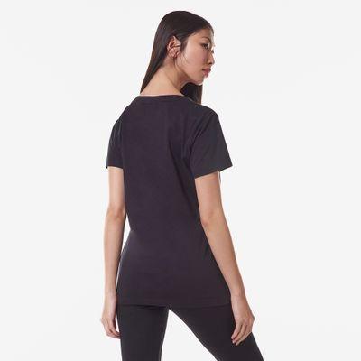 Camiseta Gola V Pima Feminina