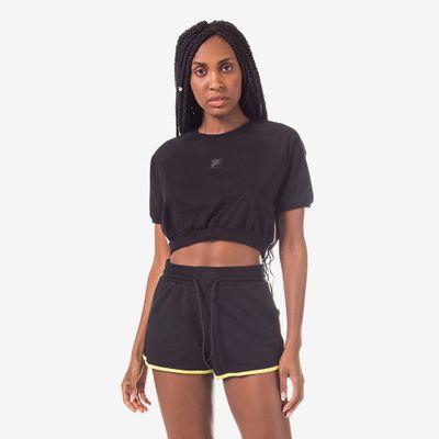 Camiseta Cropped Comfort Feminina
